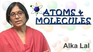 Atones  and molecules (what is an atom)