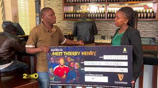 GUINNESS BE A FRONT ROW FAN ONE MILLION HANDOVER TVC