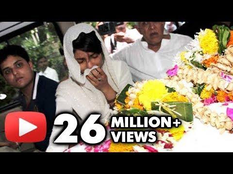Priyanka Chopra's Dad Ashok Chopra's Funeral - Bollywood Stars Pay Condolence