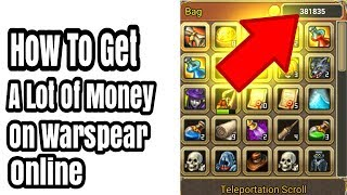 How to get gold in warspear online