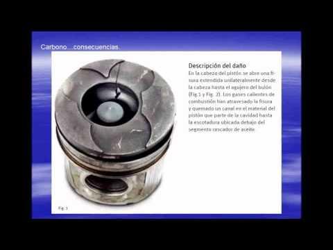 Carbono Desgaste del motor Diesel por Combustion Incompleta