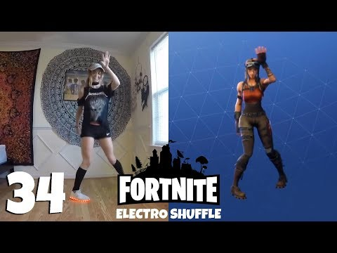 Fortnite ALL 34 emotes and dances Their real life original references