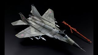 "MiG-29 SMT ""Fulcrum"" - 1/72 scale Trumpeter model kit - step by step"