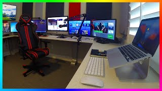 MRBOSSFTW NEW 2016 GAMING, STREAMING & OFFICE SETUP - ULTIMATE YOUTUBE GAMING OFFICE SETUP!
