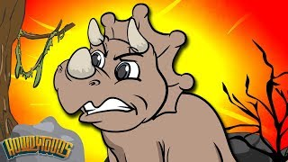 Dinosaurs Walking Through the Desert - Dinosaur Songs from Dinostory by Howdytoons S02E03