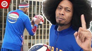 BEST Trick Shots Of 2017   Harlem Globetrotters