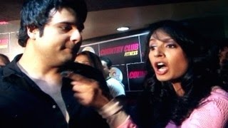 Kashmira Shah UGLY FIGHT & ABUSES a Media Reporter