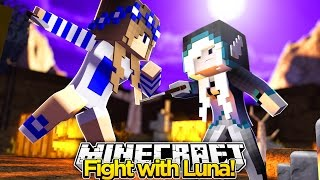 Minecraft Royal Family-LUNA AND LITTLE CARLY HAVE A FIGHT!!