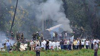 Passenger plane crashes in Havana, Cuba