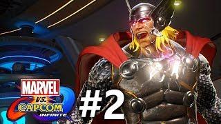 Marvel vs Capcom: Infinite - Story Mode Part #2 - Ultron Sigma