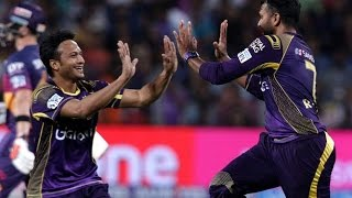 IPL 2016: Shakib's economical bowling help Kolkata to win vs Rising Pune Supergiants