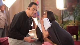 شاهد كواليس تصوير مسلسل يوميات زوجة مفروسة وكوميديا خالد سرحان - Youmyat Zoga Mafrosa