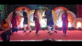 Razin and Yeasmin's Holud Dance Performance 2k17