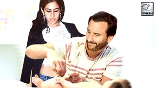 Saif Ali Khan's Kids Change Taimur's DIAPERS | Sara & Ibrahim | LehrenTV