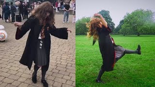 Dancing Hermione (LeviOH SHE DID THAT)