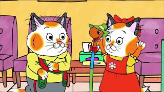 Hurray for Huckle (Busytown Mysteries) 115 - The Pretty Park Mystery | Cartoons for Kids