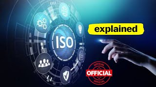 ISO - What is ISO- ISO Meaning - ISO Certification - ISO Organization - Tutorial Training