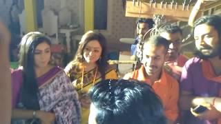 enjoying raja da's birthday @ khoka babu