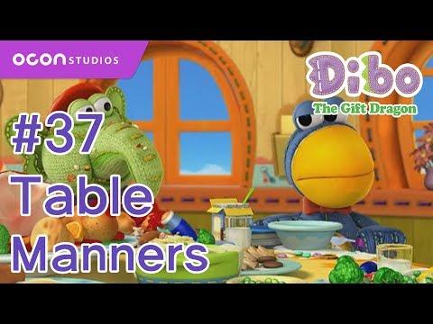 [OCON] Dibo the Gift Dragon _Ep37 Table Manners( Eng dub)