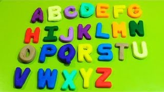 Learning Your Alphabet with Play-Doh! Funny Learning ABC Party!
