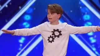 Merrick Hanna 12 Year Old Tells Emotional Story Through Dance   America's Got Talent 2017