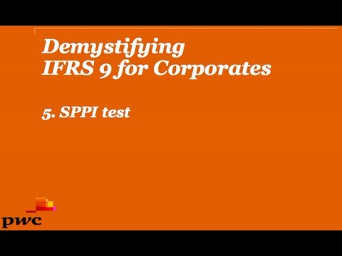 Demystifying IFRS 9 for Corporates 5. SPPI test