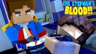 Minecraft SECRET MISSION TO GET OUR EVIL STEPMOM'S BLOOD!! Little Donny Adventure