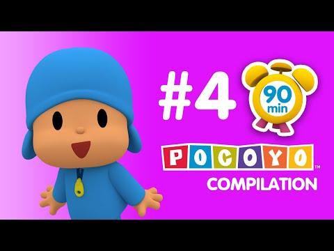 Pocoyo 90 minutes of educative fun for kids PART 4