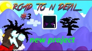 NEW BIG PROJECT!! - Road To Nightmare Devil #3 - Growtopia
