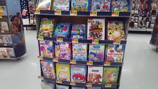 Shopping at Walmart for Movies during a Snowstorm - Blu-Rays DVDs TV shows Nickelodeon Disney