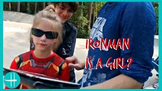 iron man is a girl? filming civil war trailer 2, rehearsals & fun w friends hopes vlogs 24hours
