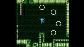 Mega Man 3: Snake Mans Stage- No Damage, Buster Only