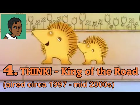 10 FAVOURITE ADVERTS OF ALL TIME - #4 - THINK! (King of the Road)