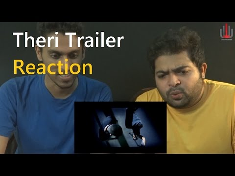 Theri Official Trailer Reaction by United We Watch 2K   Vijay, Samantha, Amy Jackson   Atlee   G V P