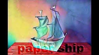 paper ship / kagojer nouka