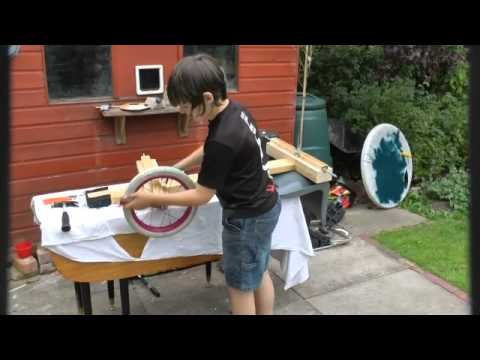 How to make a wooden Go Kart with bike wheels