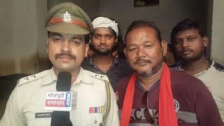 Film Damaru ke sut par actor krishana chaube aur ajay thapawww.Bhojpuri samachaar.com