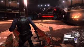 Resident Evil 6 Walkthrough Professional ( Full Game ) Leon: Chapter 5