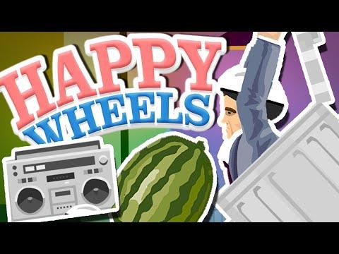 Happy Wheels I AM TRASHCAN MAN