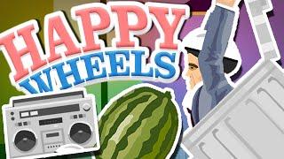 Happy Wheels | I AM TRASHCAN MAN!!