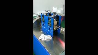 SJ50 drinking straw making machine from Nanjing Saiyi Technology