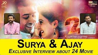 24 Movie Interview Surya and Ajay Part 3 | Samantha | Nithya Menon | Top Telugu Media