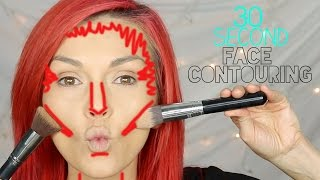 30 Second Contouring - Fast Makeup Like A Pro
