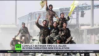 US building 'army of terror' on Syrian-Turkish border – Erdogan