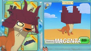 Animal Jam | HOW TO CHANGE AN ITEM'S COLOR TO MAGENTA