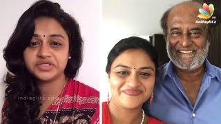 Rajinikanth Meets His 'Pondatti Da' Fan | Kabali Dubsmash Tamil