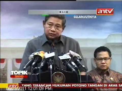 TOPIK ANTV Presiden SBY Komentar Derita TKI Dihukum Mati