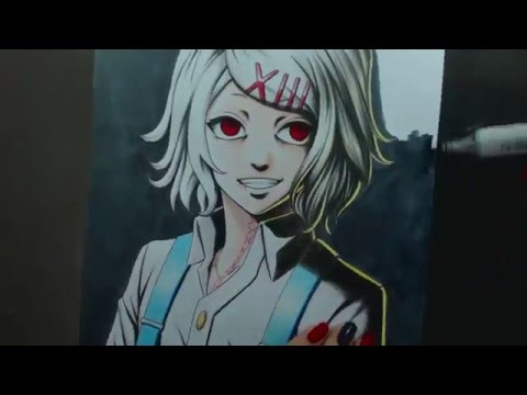 Speed Drawing - Juuzou Suzuya (Tokyo Ghoul)