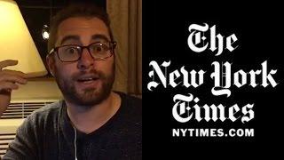 Jordan Takes On New York Times/Big Oil Love Affair