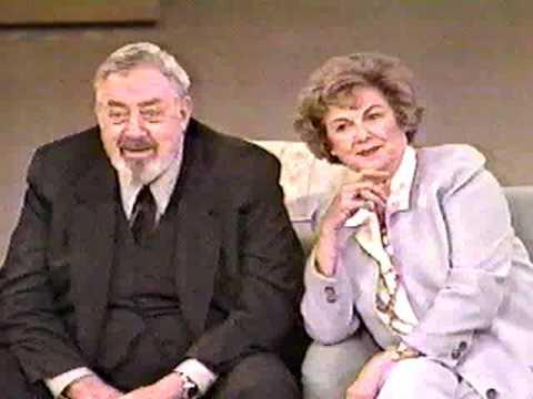 Raymond Burr and Barbara Hale Tribute Perry Mason Vicki 4 23 93
